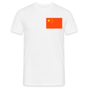 T SHIRT CHINA FLAG SMALL - T-shirt Homme