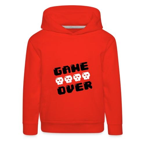 Sweat Rouge - Game Over - Pull à capuche Premium Enfant
