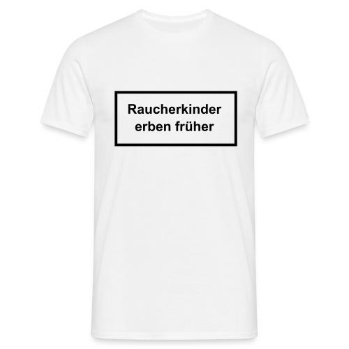 Warnhinweise - Männer T-Shirt
