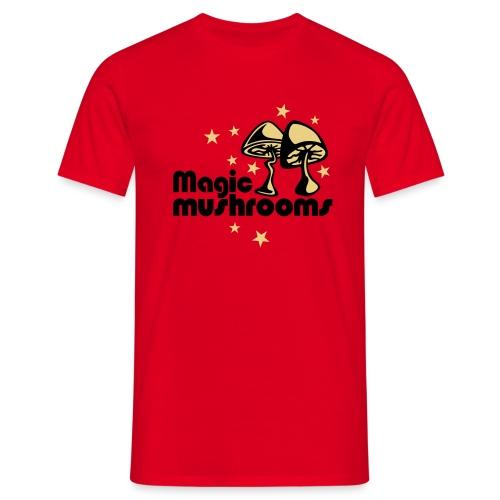 Sopp - T-skjorte for menn