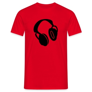 HEADPHONES - T-shirt Homme
