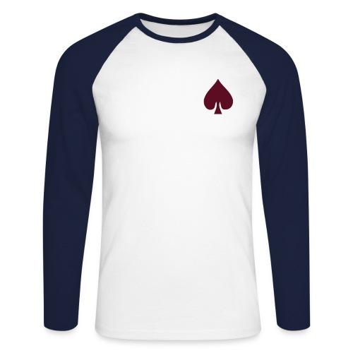 aCe Manche longue - T-shirt baseball manches longues Homme