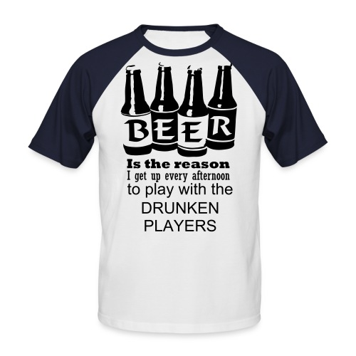 BEER - Men's Baseball T-Shirt