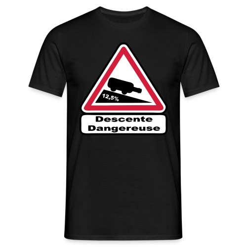 Descente dangereuse - T-shirt Homme