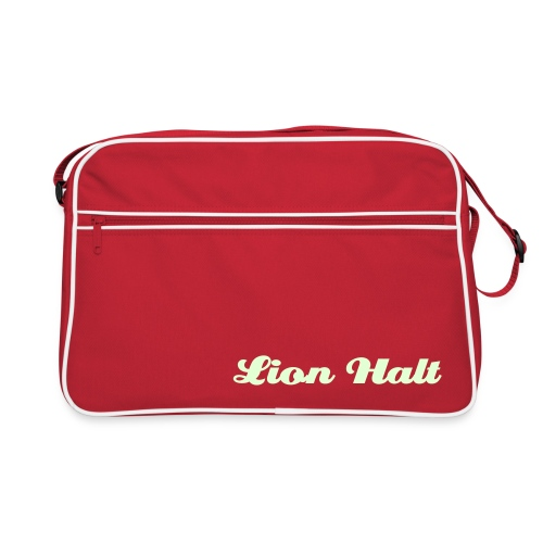 Lion Halt glow in the dark bag (Red) - Retro Bag