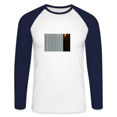 metal 1 - Men's Long Sleeve Baseball T-Shirt