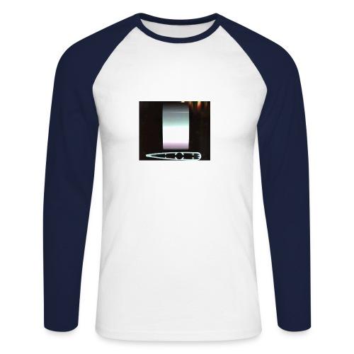 metal 2 - Men's Long Sleeve Baseball T-Shirt