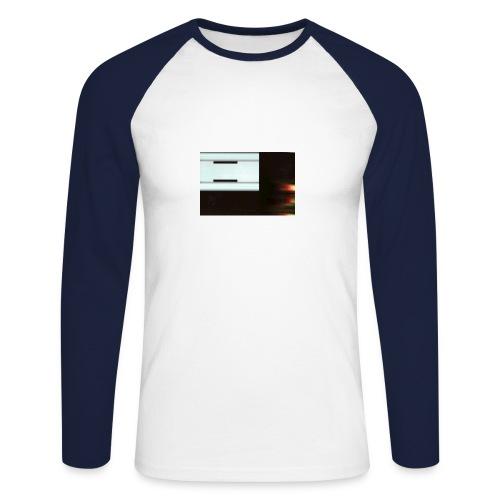 metal 3 - Men's Long Sleeve Baseball T-Shirt