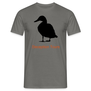 Deception Tours Black Duck - Mannen T-shirt