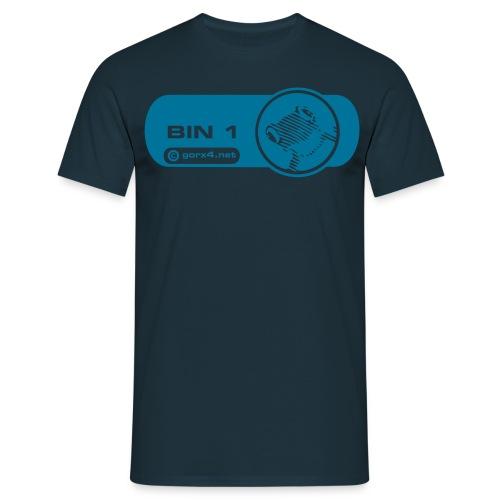 blau frosch - Männer T-Shirt