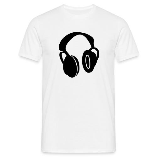 head phone tshirt - Men's T-Shirt