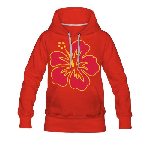 Writable Hibiscus - Women's Premium Hoodie