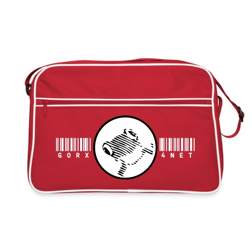 barcode frog bag - Retro Tasche