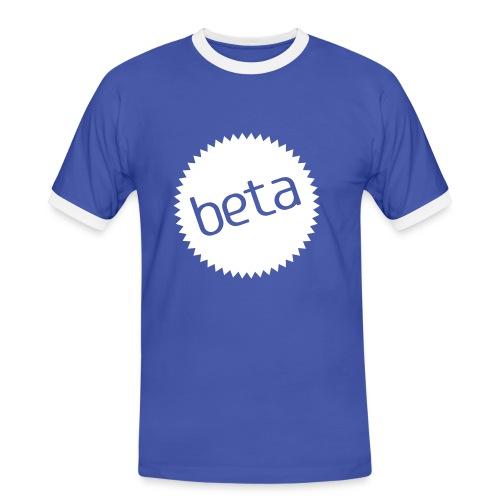Beta - Kontrast-T-skjorte for menn