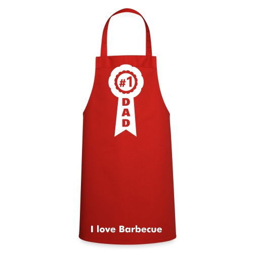 dad barbecue - Grembiule da cucina