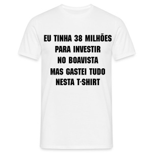 Pseudo-investidor do Boavista - Men's T-Shirt