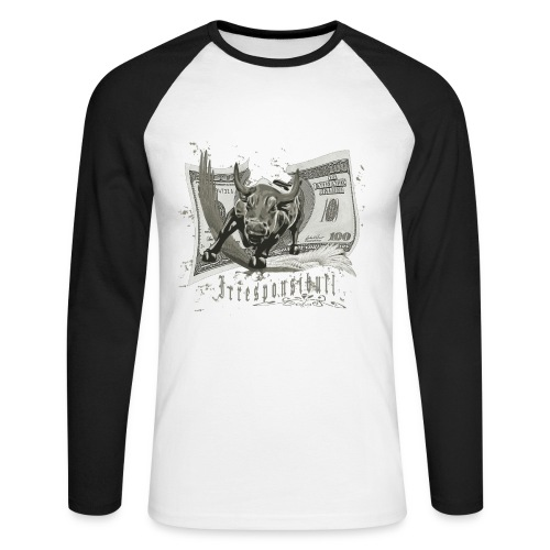 Irresponsibull - Men's Long Sleeve Baseball T-Shirt