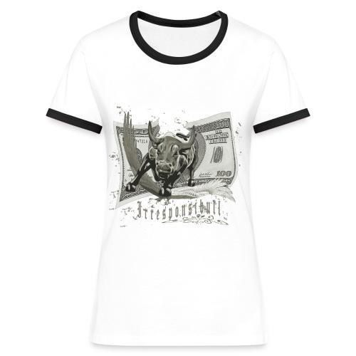 Irresponsibull - Women's Ringer T-Shirt