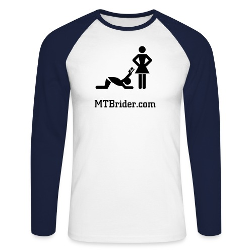 MTBr BB T-short - Men's Long Sleeve Baseball T-Shirt