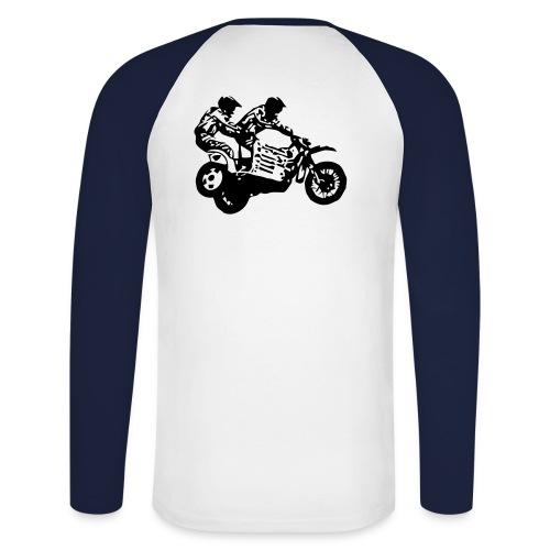polo moto - T-shirt baseball manches longues Homme