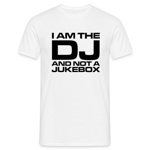I am the DJ - T-skjorte for menn