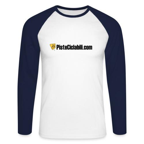 Maglietta a maniche lunghe - Maglia da baseball a manica lunga da uomo