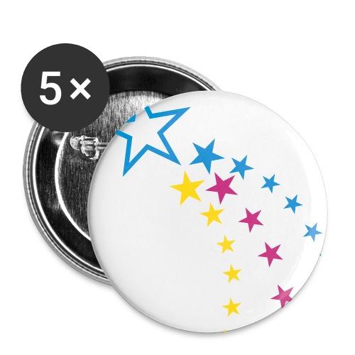 StarButtons - Middels pin 32 mm (5-er pakke)