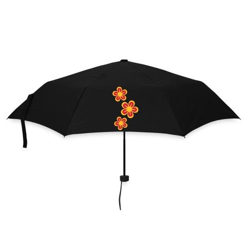 FLOWER POWER (black) - Parasol (mały)