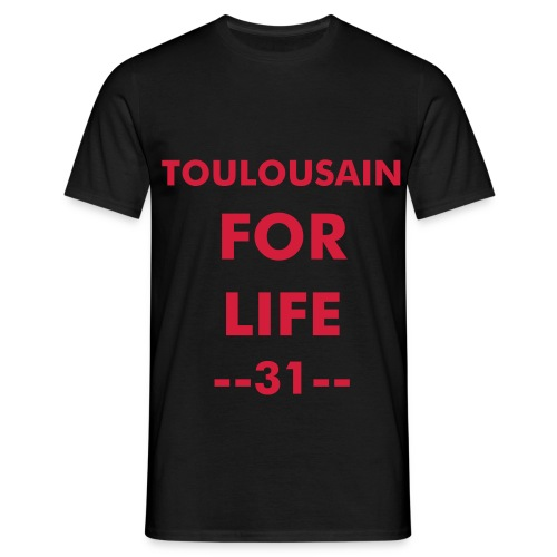 toulousain for life - T-shirt Homme