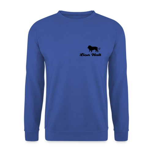 Lion Halt sweatshirt (Black logo) - Men's Sweatshirt
