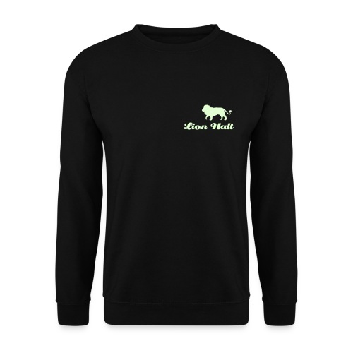 Lion Halt sweatshirt (Glow in the Dark) - Men's Sweatshirt
