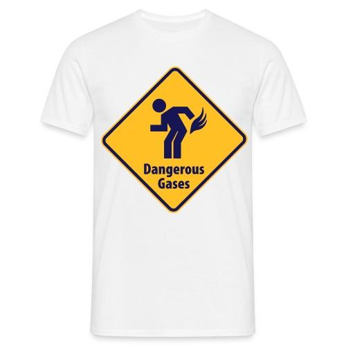 Warning - T-skjorte for menn