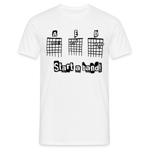 Start a Band! - T-shirt herr