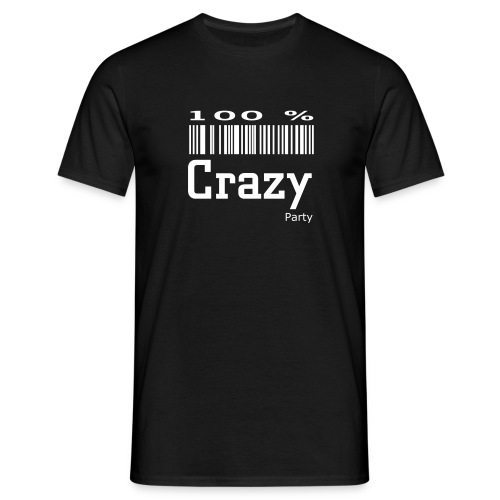 100% crazy - T-shirt Homme