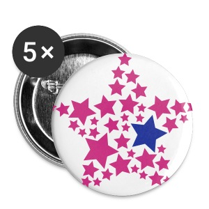 STAR BADGE - Buttons large 56 mm