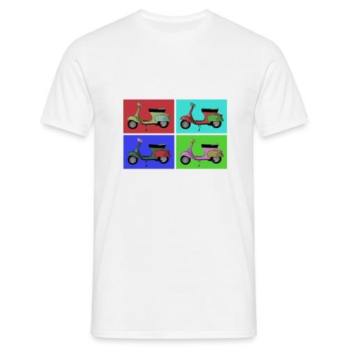 Vespa Vintage - T-shirt herr