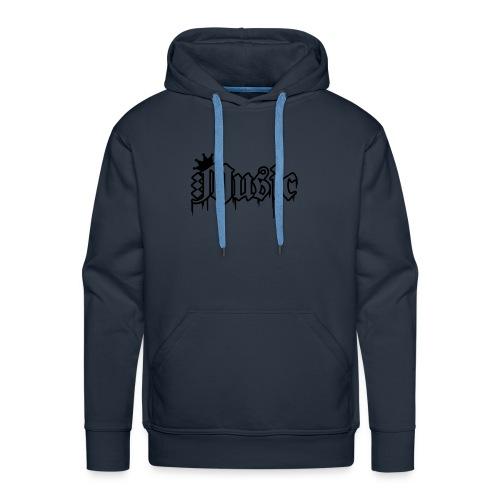 Homme design devant(couleur au choix - Sweat-shirt à capuche Premium pour hommes
