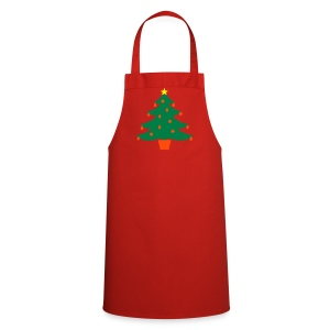 Christmas Tree Cooking Apron - Cooking Apron