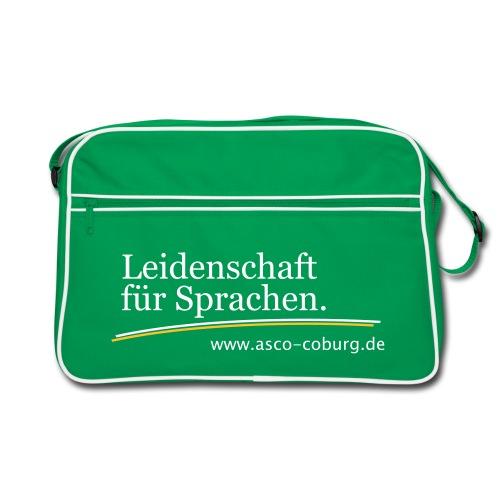 asco_claim_leidenschaft - Retro Tasche