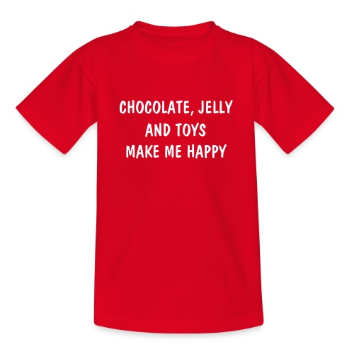 ChocolateJellytoys girls - Teenage T-Shirt