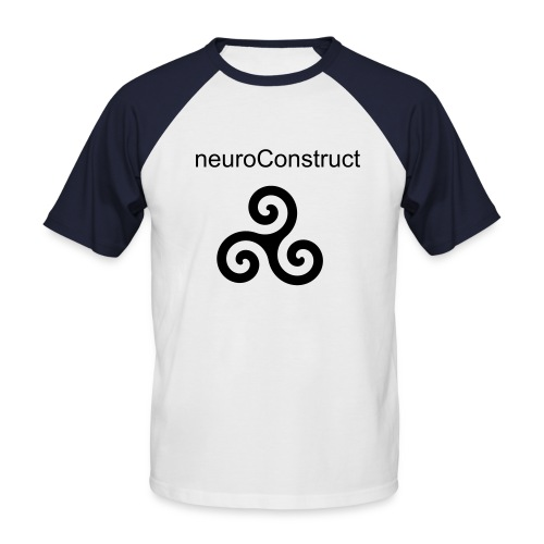 neuroConstruct shirt - Men's Baseball T-Shirt