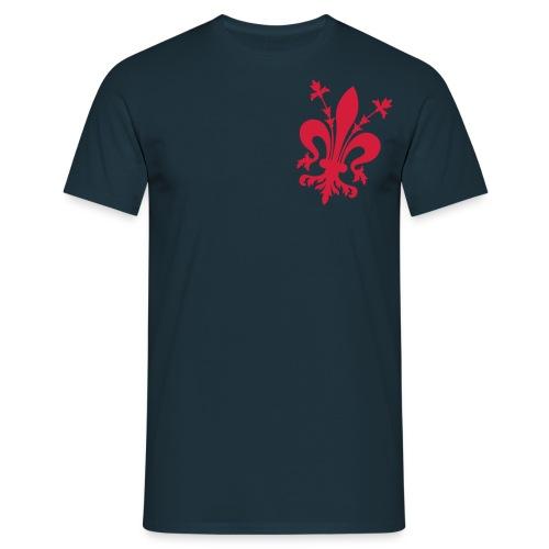 Fiorentina.Info Official T-Shirt - Deep Blu - Maglietta da uomo