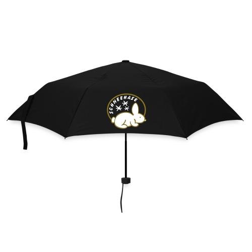Schneehase 01 - 2farb - Regenschirm (klein)