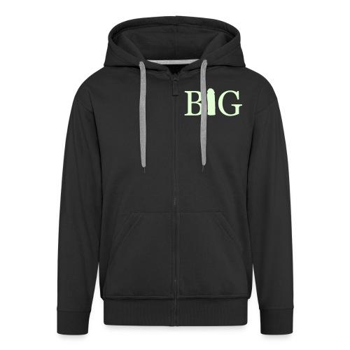 big d**K - Men's Premium Hooded Jacket
