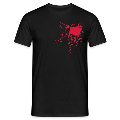 Black bloodstain - Men's T-Shirt