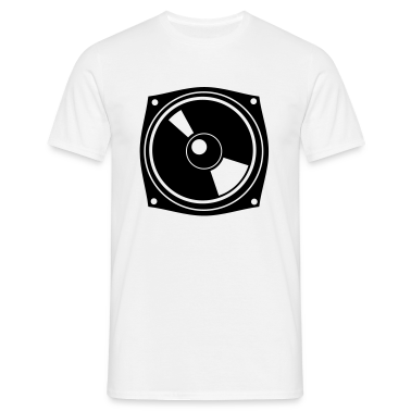 White Box - Speaker - DJ - Club - Party Men's Tees (short-sleeved)