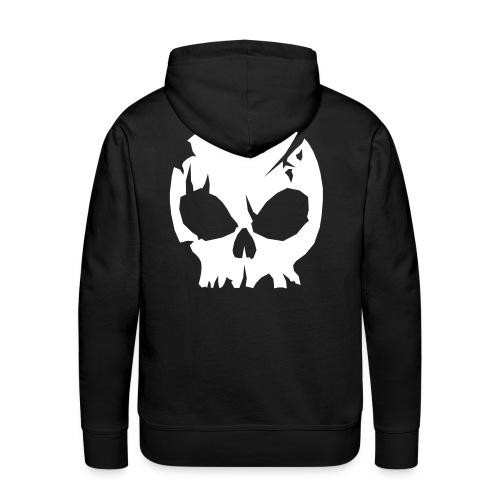 Skull 2 Huppari - Miesten premium-huppari