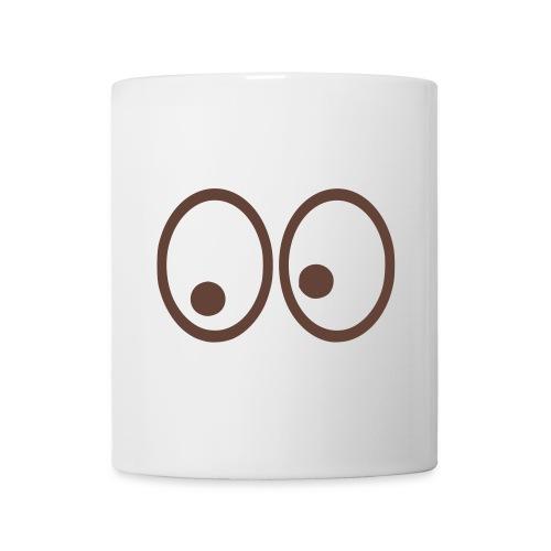 tasse eyes - Mug blanc