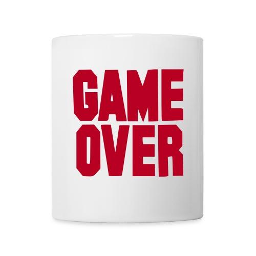tasse game over - Mug blanc