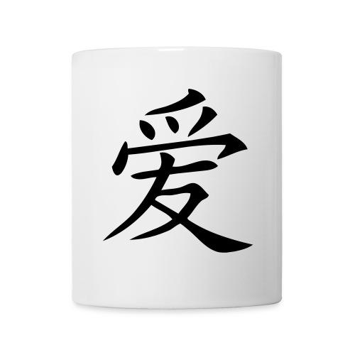 tasse amour - Mug blanc
